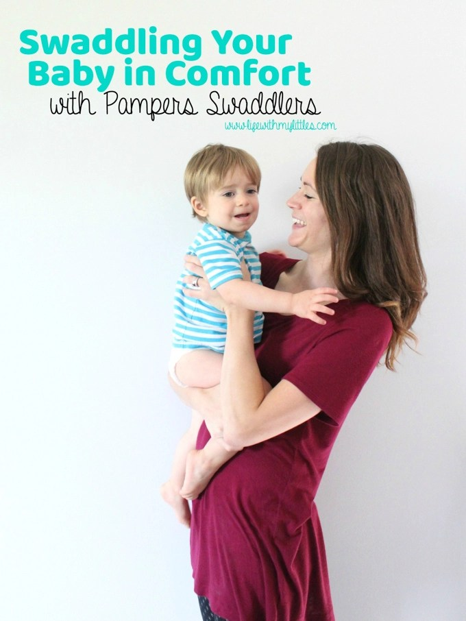 Swaddling Your Baby in Comfort with Pampers Swaddlers