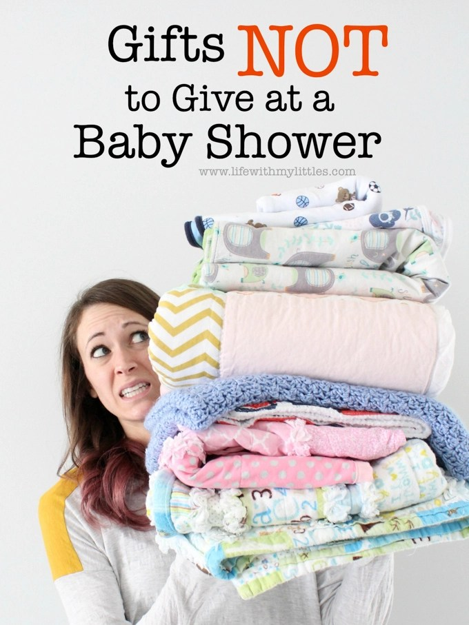 Gifts Not To Give At A Baby Shower Life With My Littles