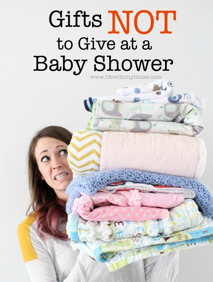 Gifts Not to Give at a Baby Shower