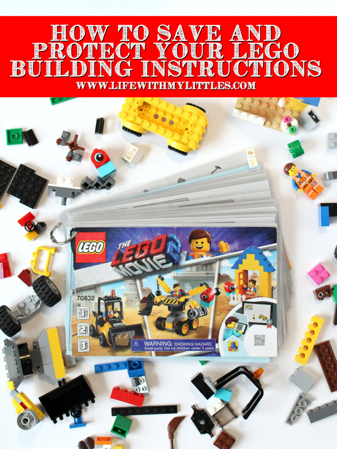 Youtube Instructional Eyeshadow Tattoo Makeup: How To Save And Protect Your LEGO Building Instructions