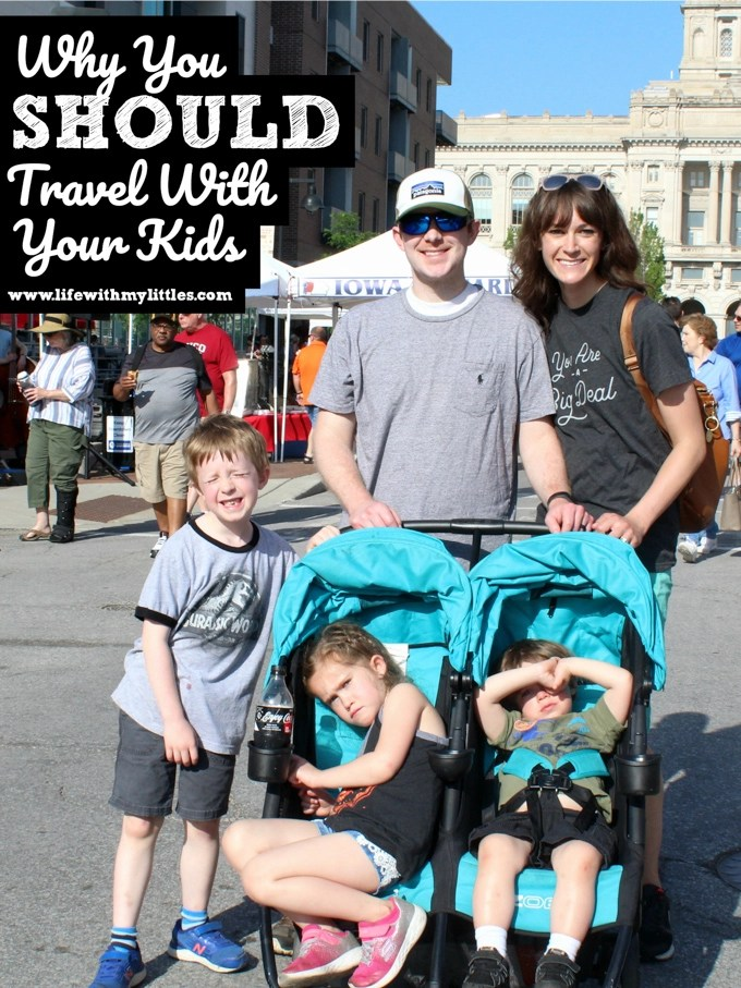Not convinced that bringing your kids on vacation is a good idea? Here are 7 reasons why you SHOULD travel with your kids!