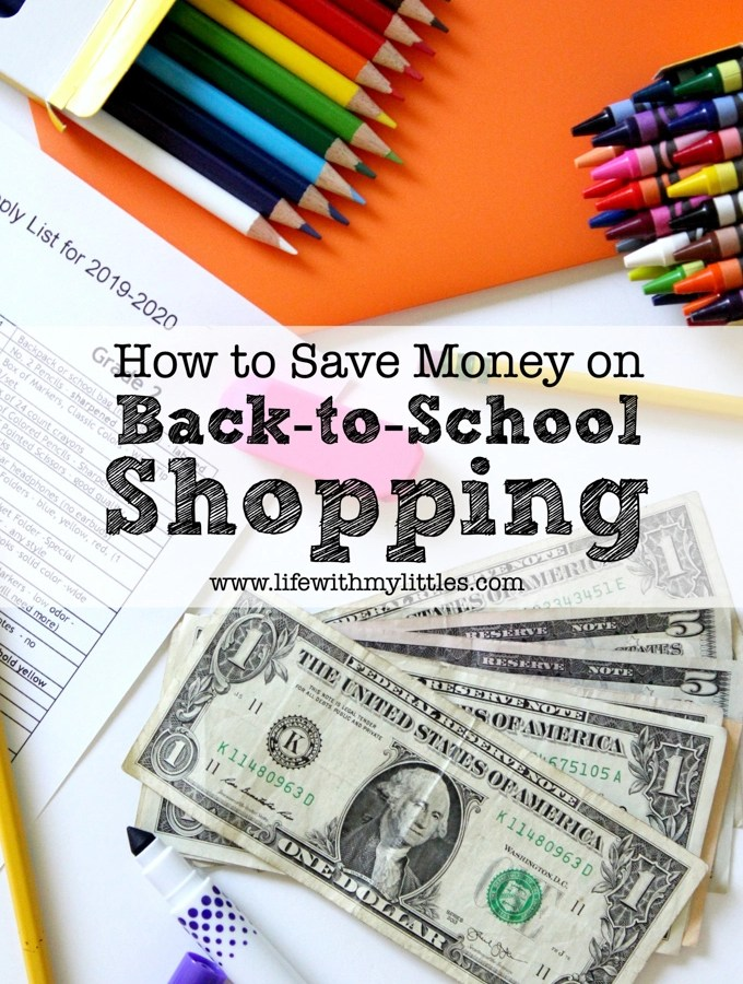Need some help saving money shopping for school supplies this year? Here are 7 tips to help you save money on back-to-school shopping!