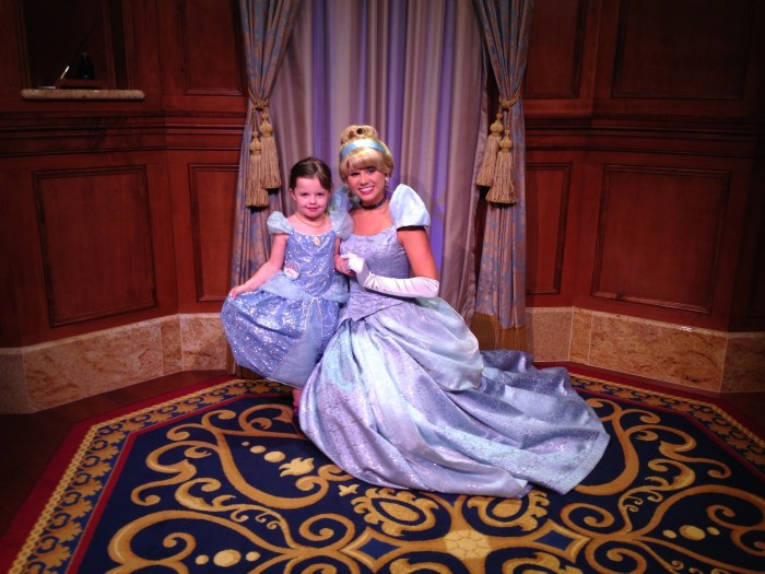 she met cinderella april
