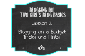 Blogging on a Budget