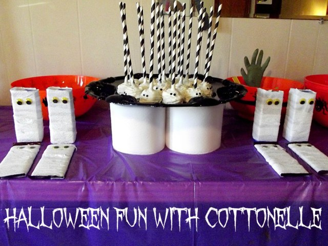Halloween Fun With Cottonelle