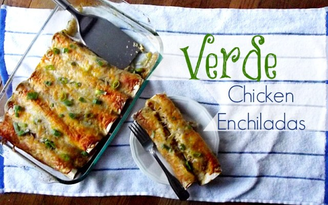 Verde Chicken Enchiladas #shop
