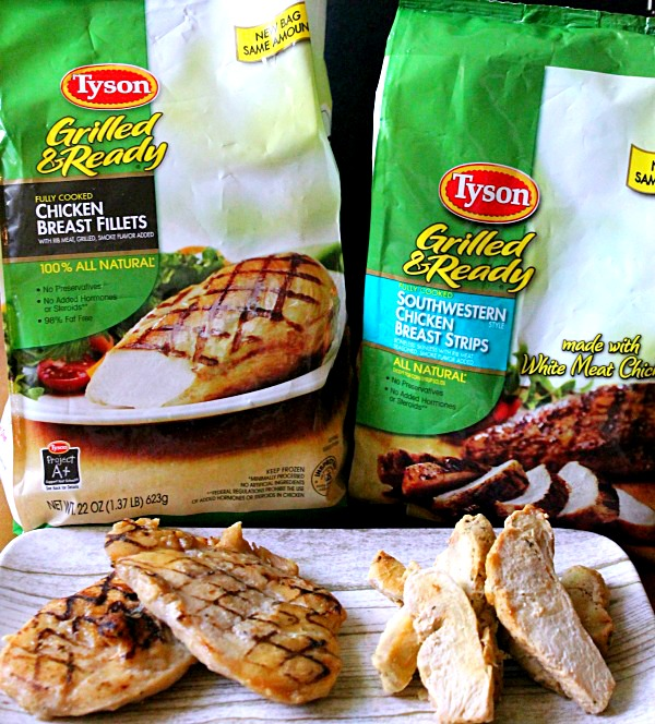 Tyson Grilled and Ready #JustAddTyson, #ad, #cbias