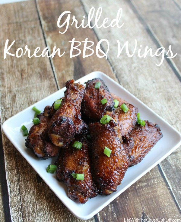 Korean BBQ Wings #whatsgrillin #CollectiveBias