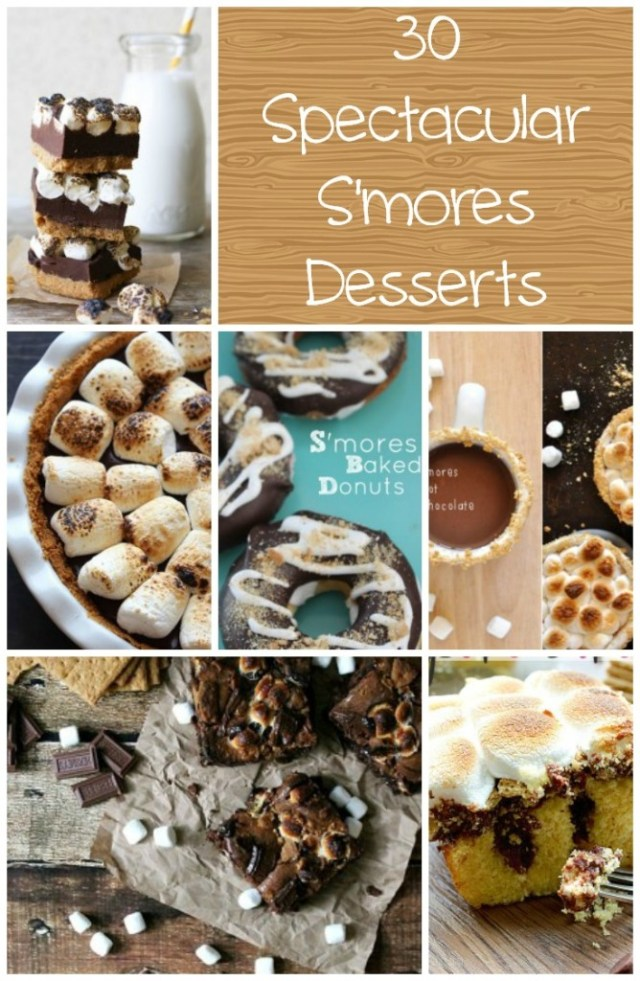30 Spectacular S'mores Desserts