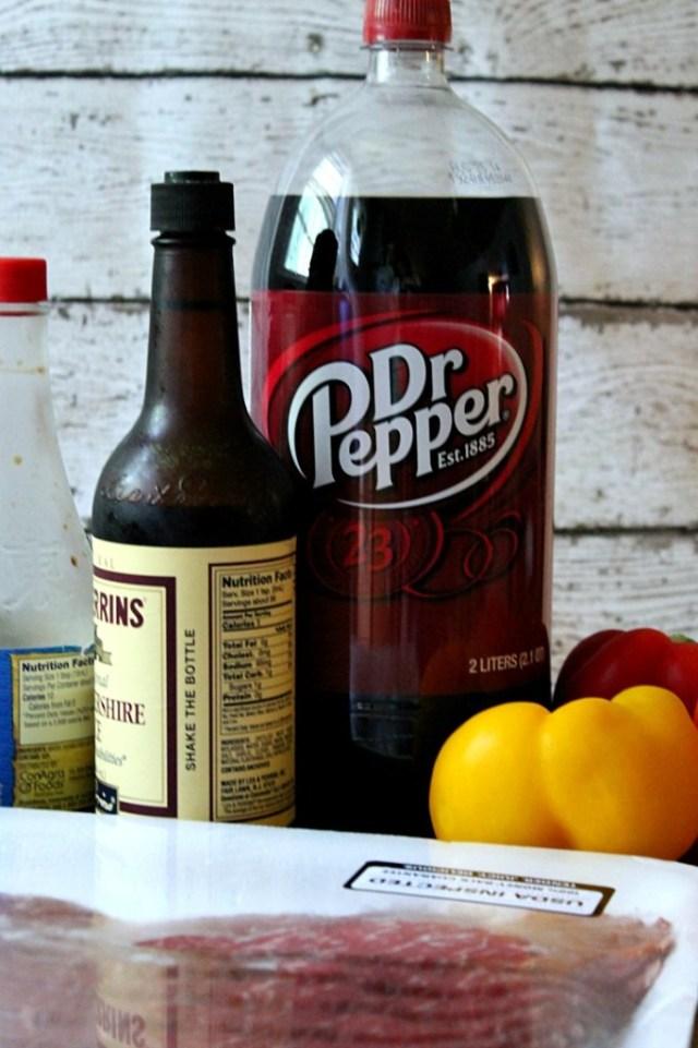 Dr Pepper Fajita Ingredients #BackyardBash #CollectiveBias