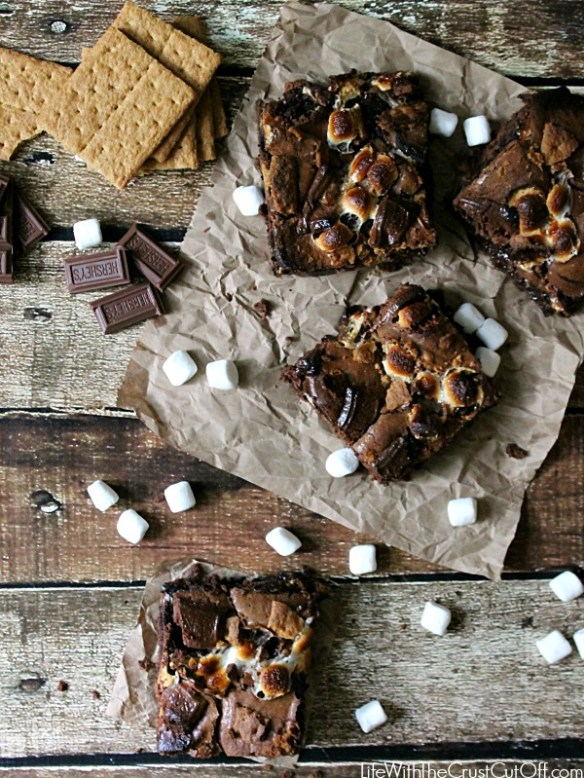 Smoreo Brownies