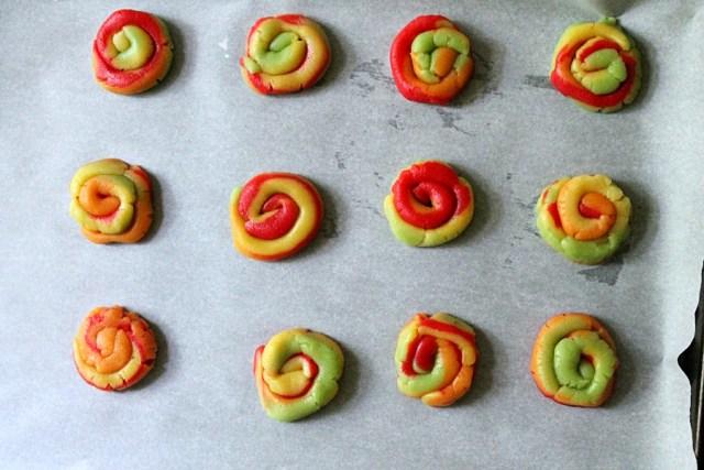 Sherbet Cookie Swirls