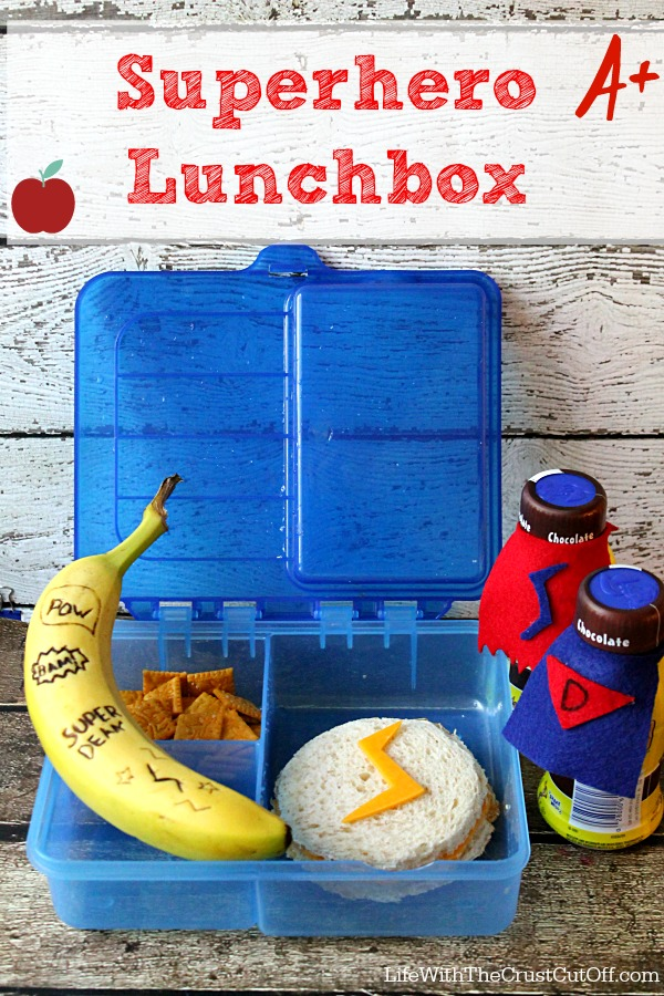 Superhero Lunchbox #FoodMadeSimple #CollectiveBias