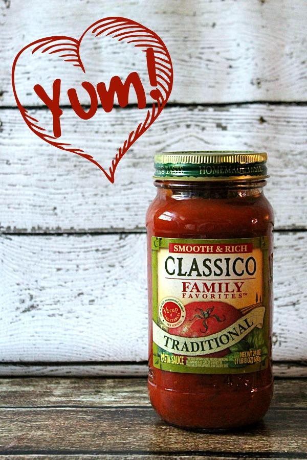 Classico Sauce #FamilyFavorites #CollectiveBias