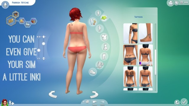 Sims 4 tattoos #TheSims4 #CollectiveBias