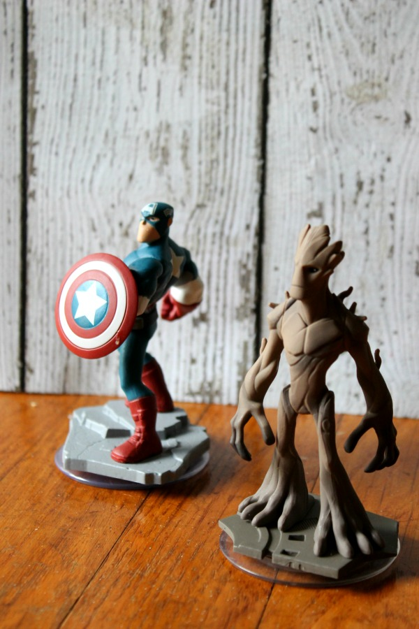 Capt and Groot #InfinityHeroes #CollectiveBias