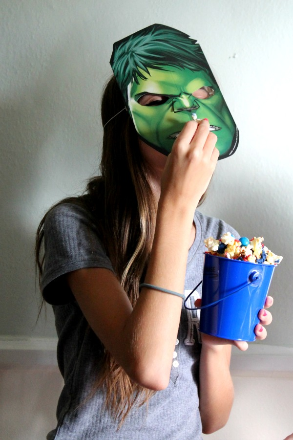 Hulk Mask #HeroesEatMMs #CollectiveBias