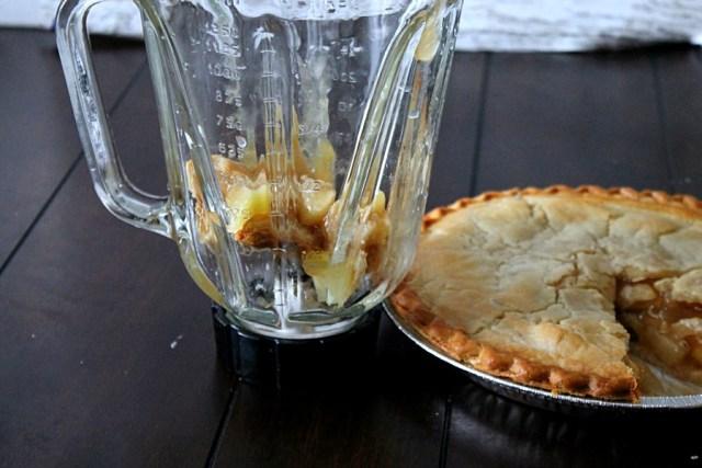 Apple Pie Milkshake #ThankfullySweet #CollectiveBias