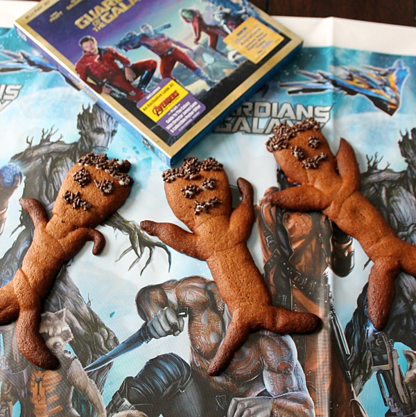 Cute Groot Cookies #OwnTheGalaxy #CollectiveBias