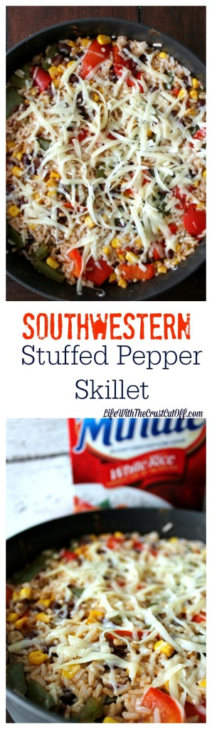Southwestern Stuffed Pepper Skillet