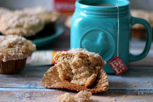 Bigelow Honey Tea Streusel Muffins #AmericasTea #CollectiveBias