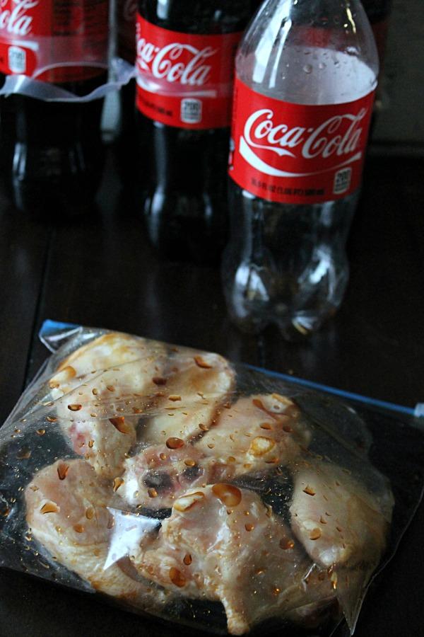 Marinate Wings In Coke #PreparetoParty #CollectiveBias