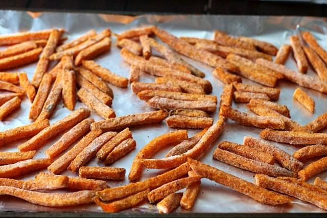 Spicy Sweet Potato Fries #SpringIntoFlavor #CollectiveBias