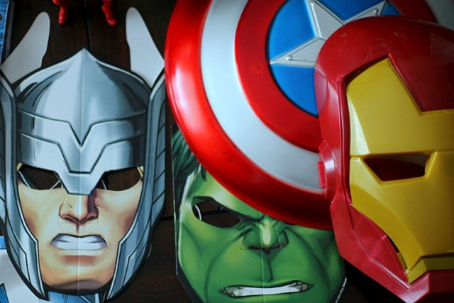 Avengers Masks #AvengersUnite #CollectiveBias