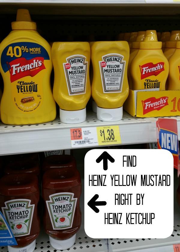 Heinz in Walmart #KetchupsNewMustard #CollectiveBias