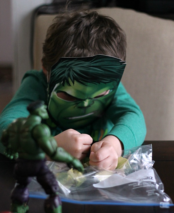 Hulk Smash Avocados!  #AvengersUnite #CollectiveBias