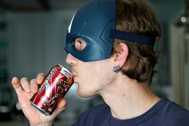 Iron Man Dr. Pepper  #AvengersUnite #CollectiveBias