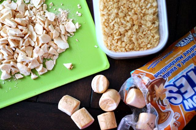 Caramel Apple Rice Krispie Ingredients