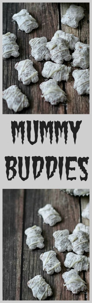 Mummy Buddies, perfect for Halloween!