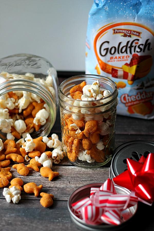 Goldfish Snowball Snack