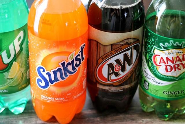 Sodas for the holidays