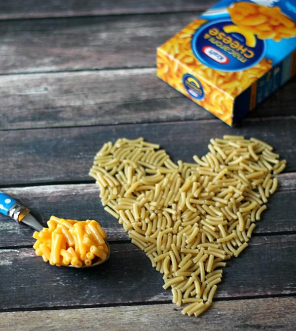 We heart Kraft Mac and Cheese