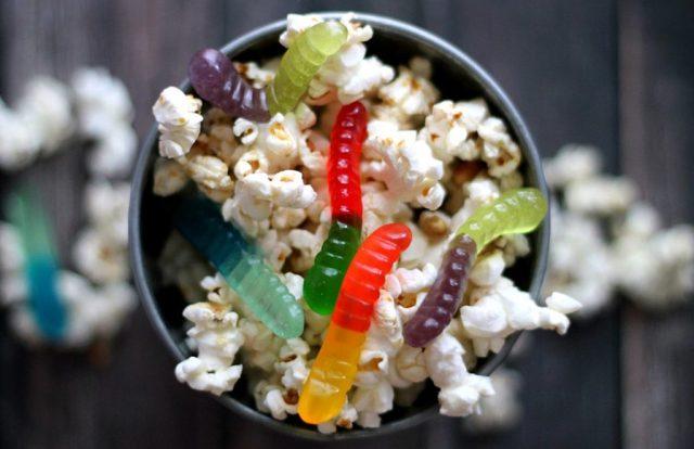 Gummi Worm Popcorn