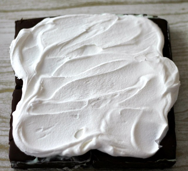 Whipped cream layer