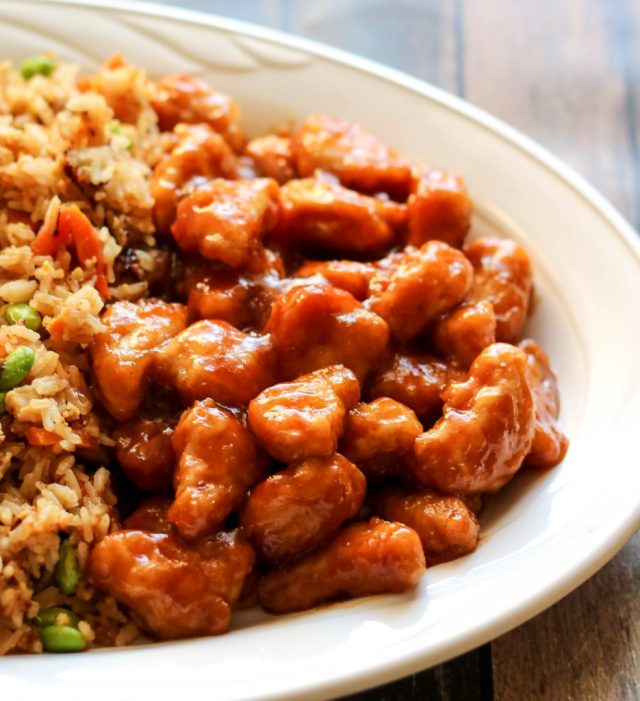 P.F Changs Home Menu Honey Chicken
