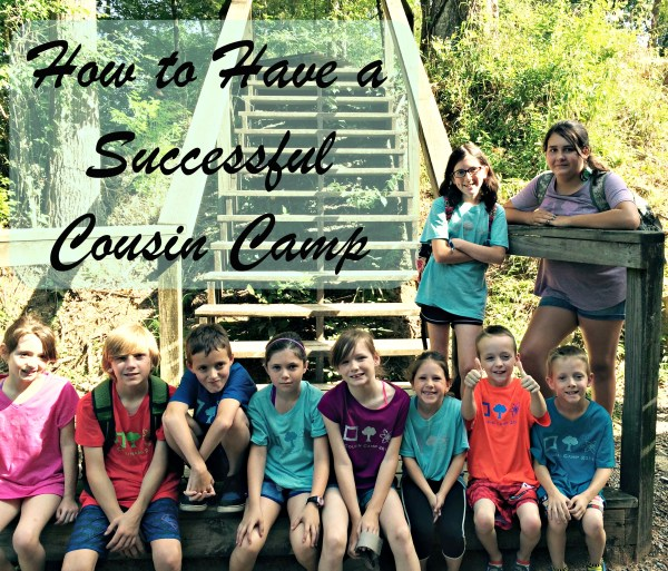 cousin camp summer activity activities