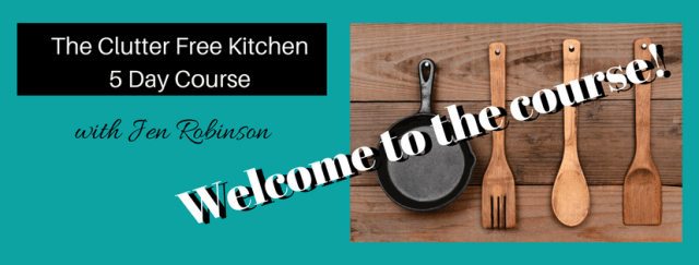 The Clutter Free Kitchen Mini Course Thank You Page 5