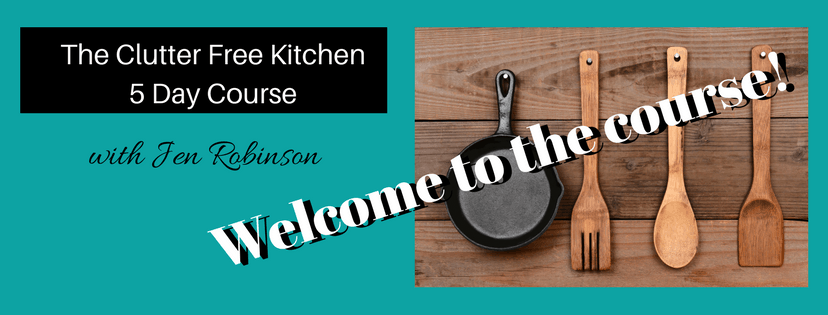 The Clutter Free Kitchen Mini Course Thank You Page 1