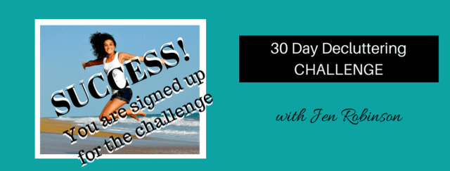 30 day decluttering challenge thank you page 5