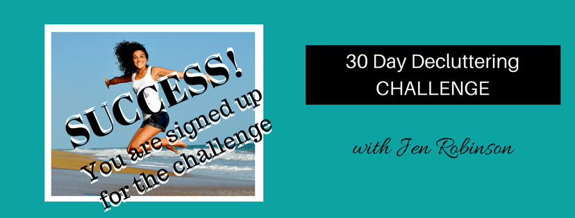 30 day decluttering challenge thank you page 1