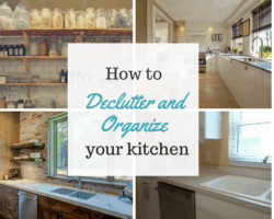declutter the kitchen