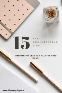 #declutterfast #decluttertips #clutterfree #decluttering