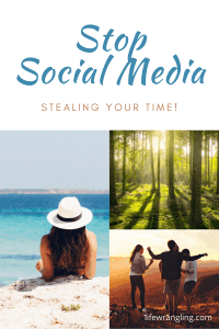 How to prevent social media stealing your time