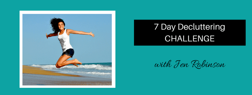 7 day decluttering challenge success page 1