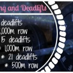Quickie Weekend Workout: Rowing and Deadlifts