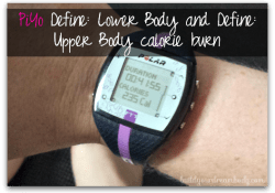 Define: Upper Body and Lower Body (PiYo Workout Review)